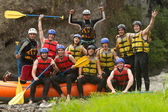 Fotografie Whitewater River Rafting Adventure Team