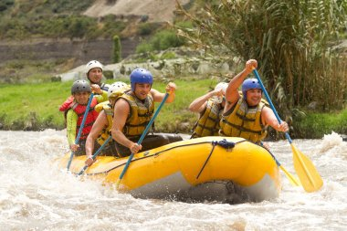 Ecuador Whitewater River Rafting