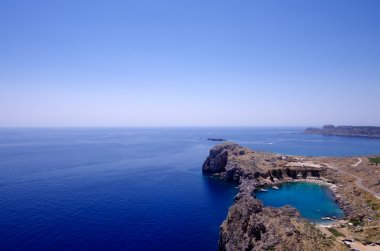 St Paul Bay, Lindos, Rhodes, Greece