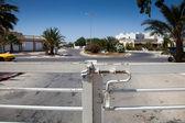 Fotografie Gate detail in Djerba Tunisia