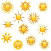 Photo Sun Icons Collection