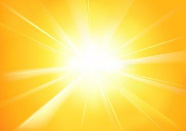 Sunshine - Abstract Background Illustration stock vector