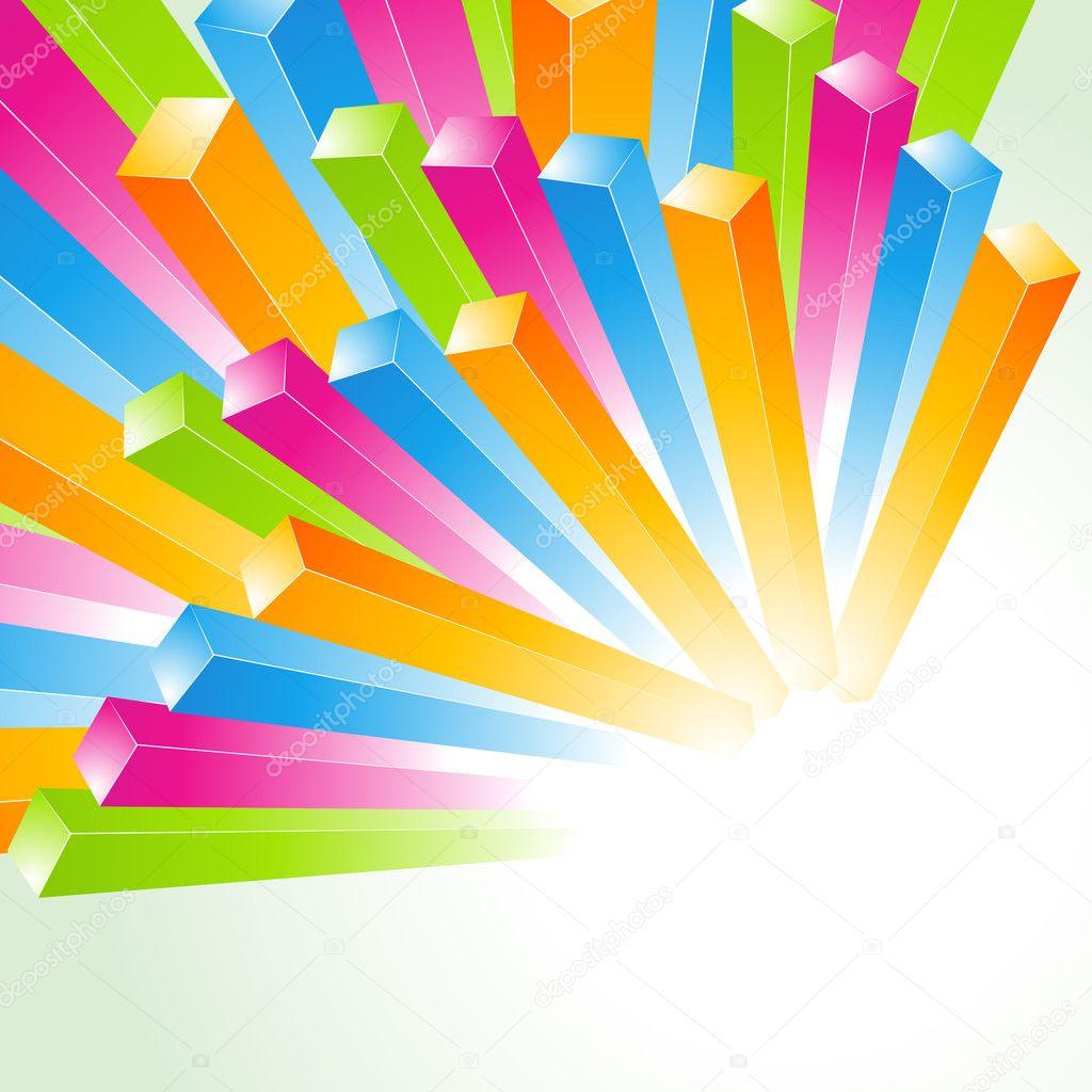 Sfondo colorato linee vettoriali vettoriali stock for Scarica clipart