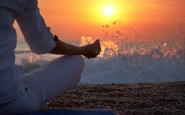 Yoga Details Woman Hand
