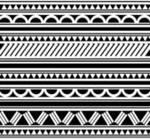 Polinéz stílusú tattoo karkötő