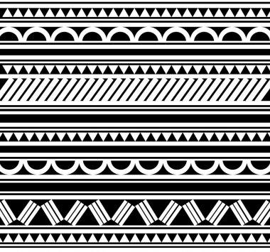 Polynesian Style tattoo bracelet