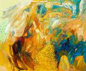 Fotografie abstrakte Ölgemälde