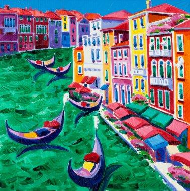"Картина, постер, плакат, фотообои ""Венеция, Италия"", артикул 12388274"