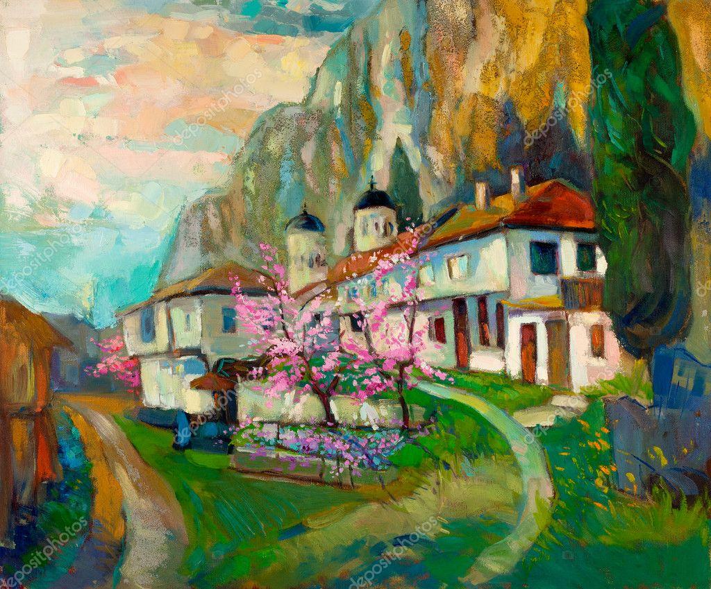 Bulgarian Village in the mountain