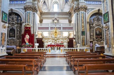 Mother Church of SS Assumption. Sternatia. Puglia. Italy.