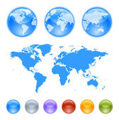 Fotografia kit creazione globi di terra