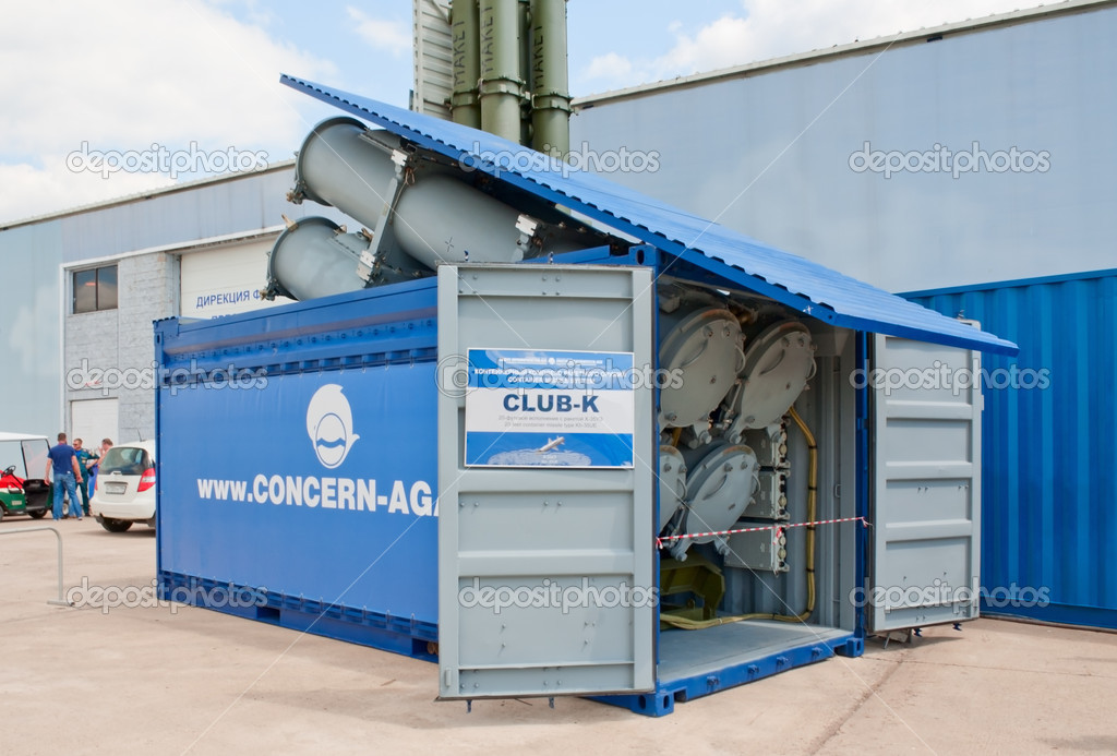 Club k container missile system stock editorial photo for Surface container