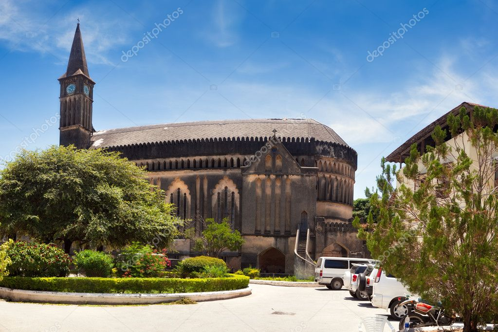 Anglican cathedral Christ Church, Stone Town, Zanzibar