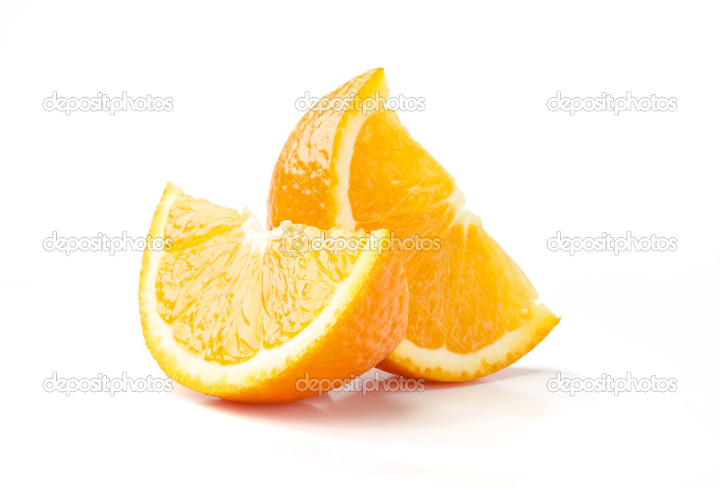 Two Slices of Orange