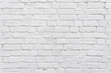 White brick wall background stock vector