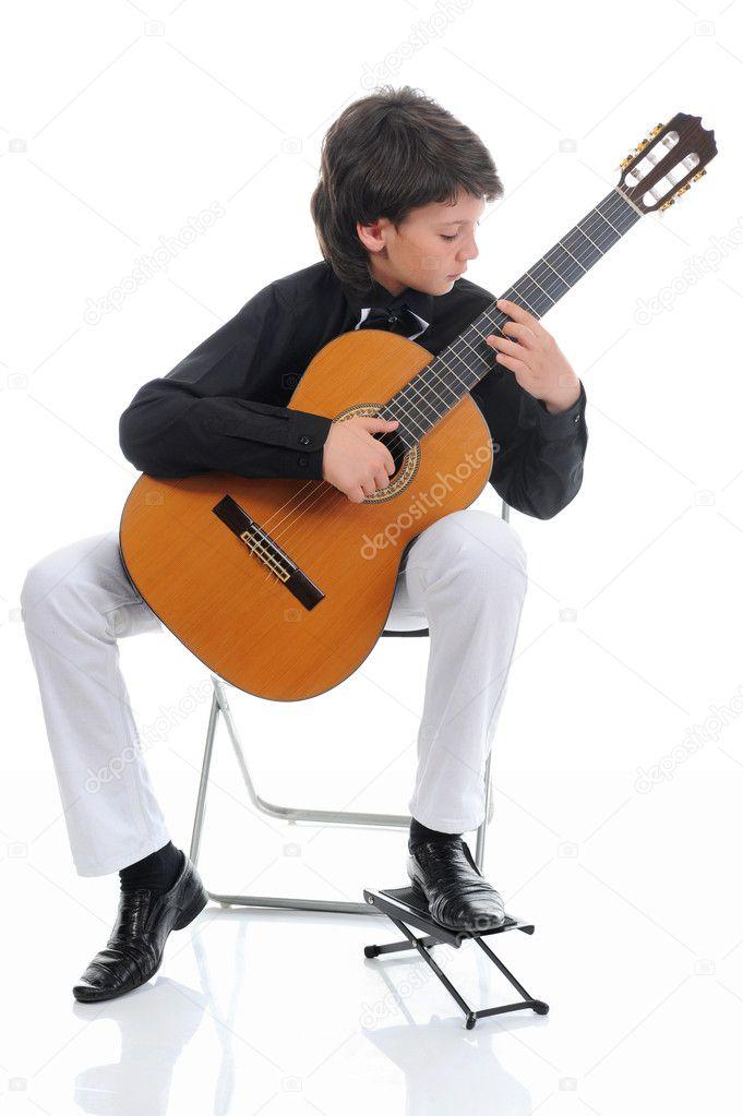 Guitar playing dude fucks a hot country girl 10