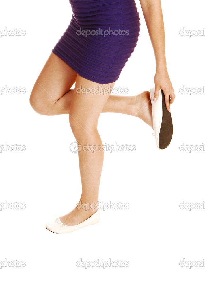c53d9f469f13 scarpa perdere ragazza — Foto Stock © sucher  12016235
