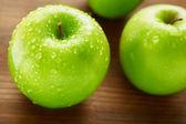 Fotografie Zelená jablka