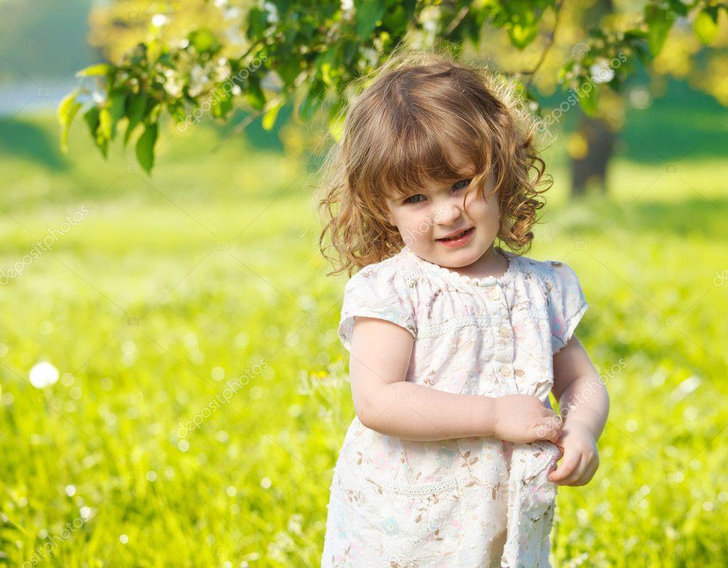 happy little girl - HD1024×768