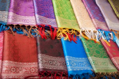 Indian fabric counter