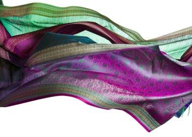 Flying silk kerchief