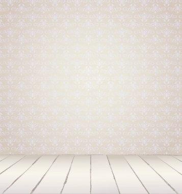 White vintage interior