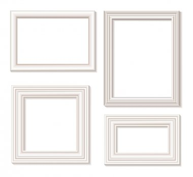 Picture frame white