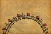 ročník obraz slavného ruského kola v parku prater - Vídeň aus