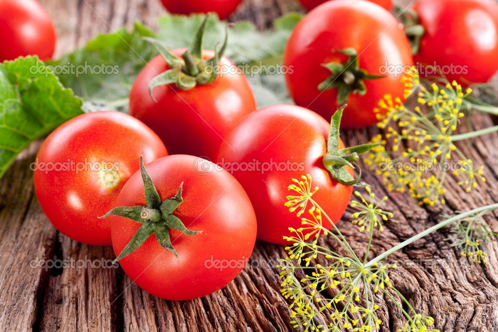 Tomatoes, cooked with herbs for the preservation