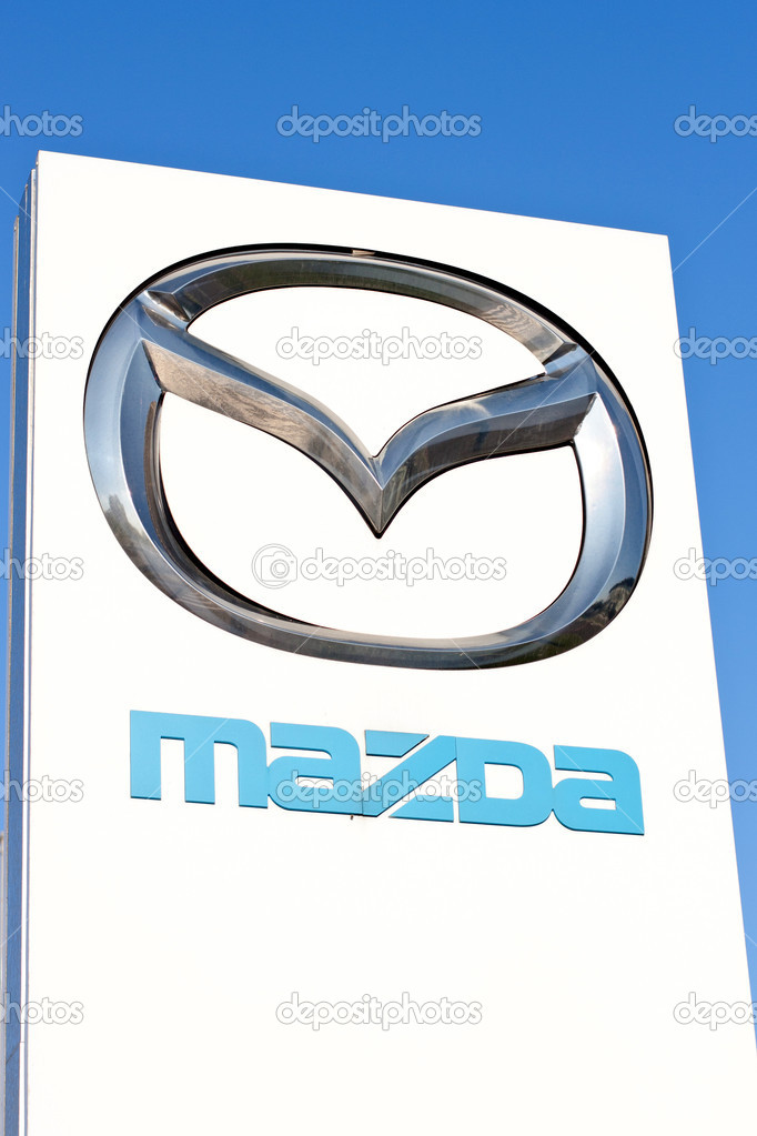 Sign For Mazda Stock Editorial Photo Pil7615 11672593