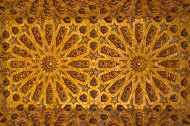 Islamic style. Detail of wall plaster. Great background.