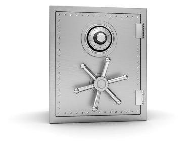 Big silver safe