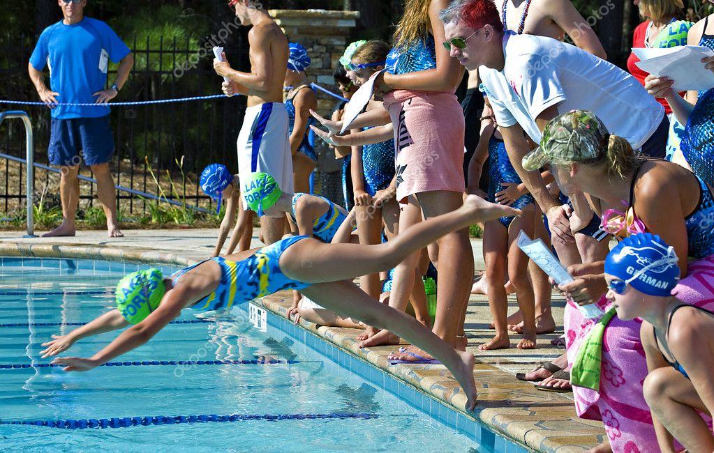 Swim Meet Competition – Stock Editorial Photo © noonie #11452014