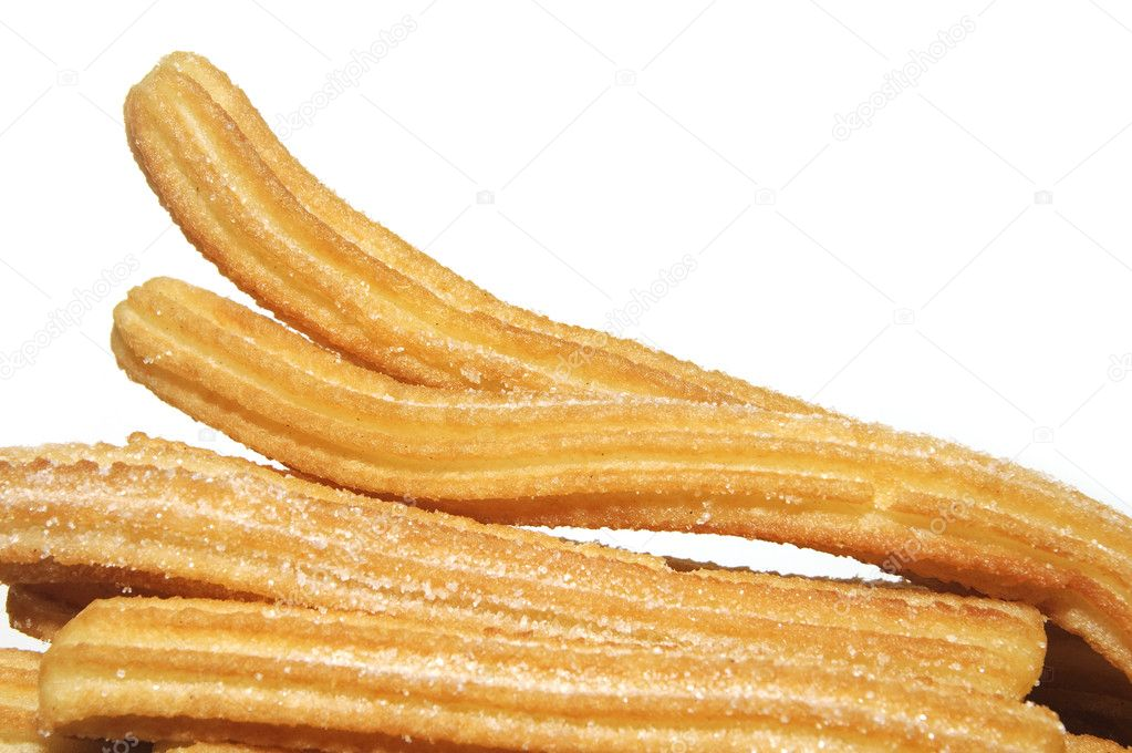 Verrassend Churros, typical Spanish sweet — Stock Photo © nito103 #12019410 GR-05