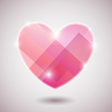 Illustration background heart eps10 vector background