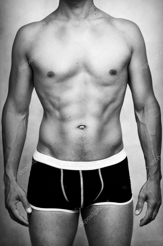 02b4ad734b modelo de ropa interior sexy masculina — Fotos de Stock © katalinks ...