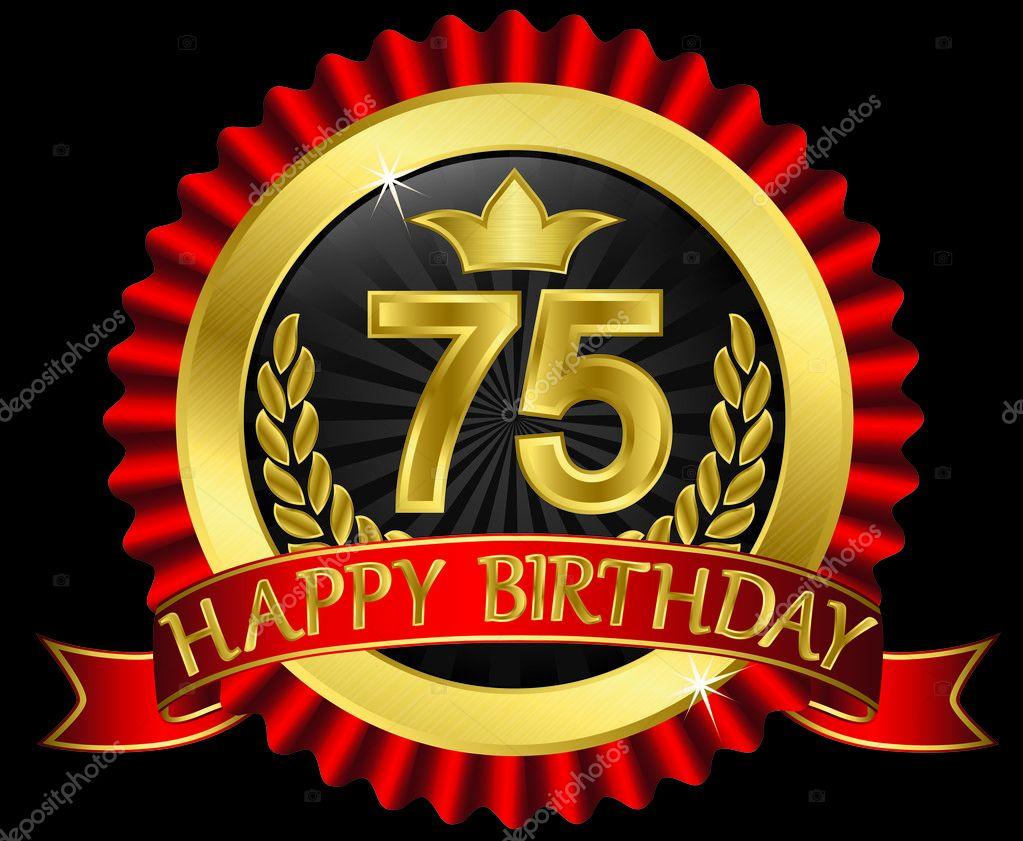 75 Jaar Verjaardag