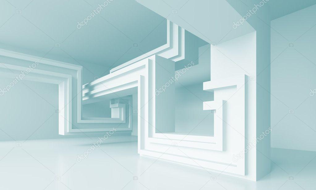 minimalistische Architektur und design — Stockfoto © maxkrasnov ...