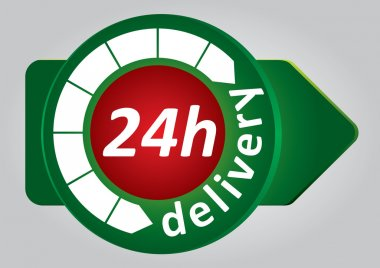24h delivery tag
