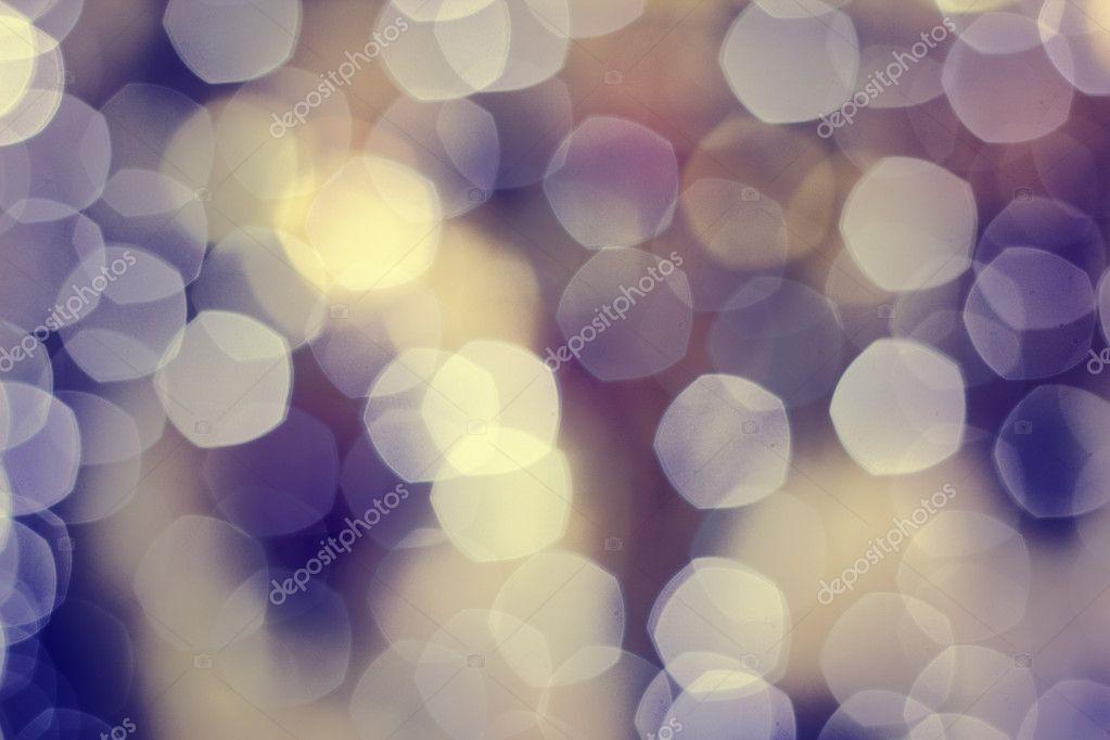 Christmas boke light purple background