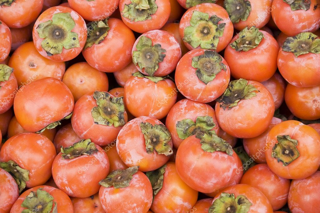 Persimmon background