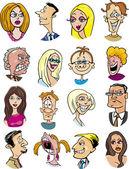 kreslené postavičky a emoce