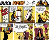 Fotografie Black Ducks Comic Folge 74