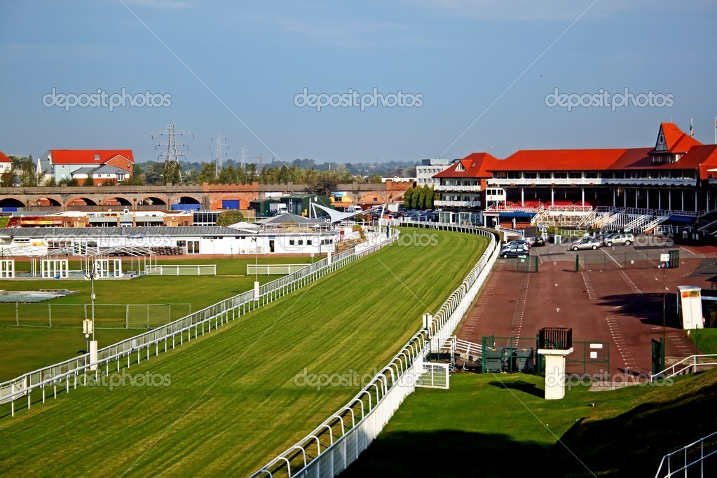 Thoroughbred racetrack
