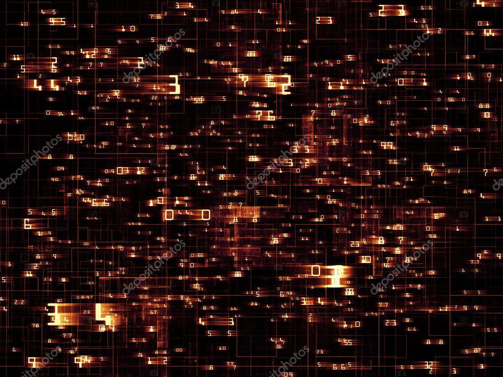 Network Lights — Stock Photo © agsandrew #12040074