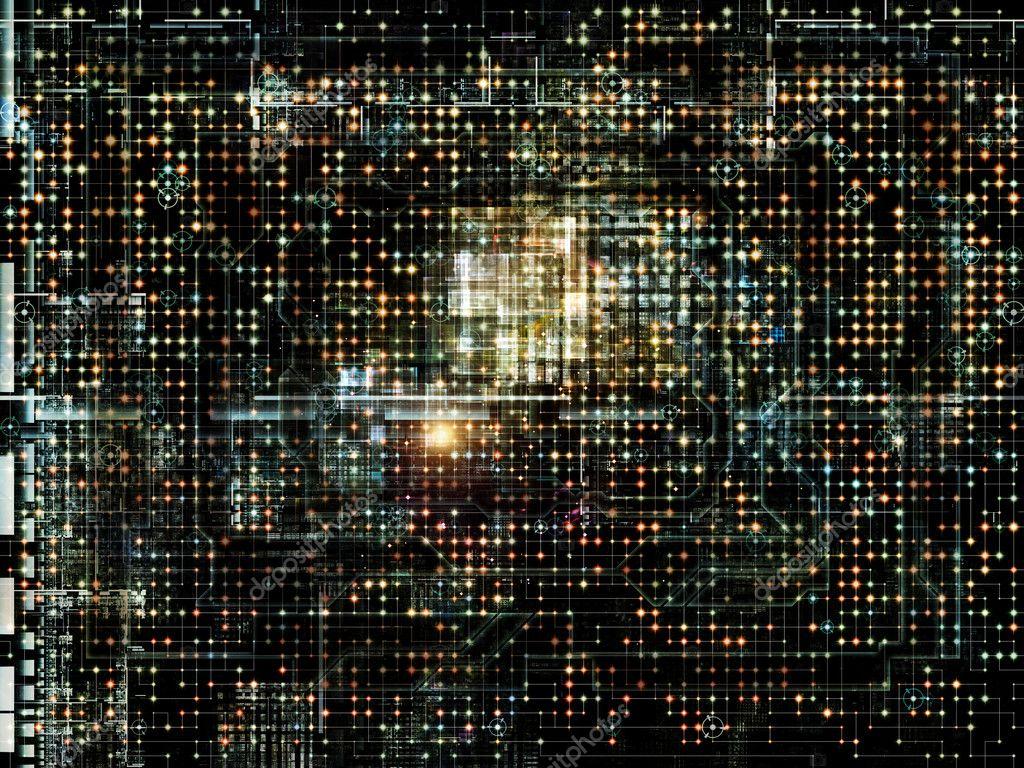 Network Visualization — Stock Photo © agsandrew #12281629