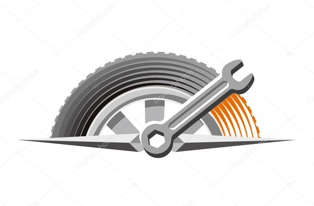Logo of auto repair shop — Stock Photo © eugeniy #11388285