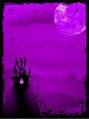 Fotografie strašidelný halloween složení. EPS 8