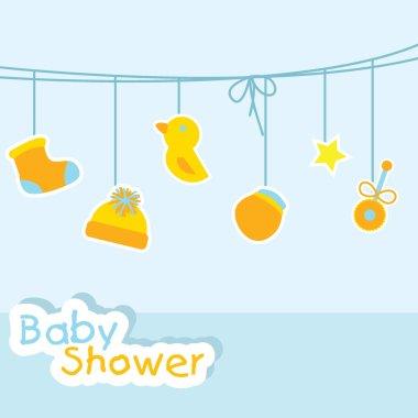 Baby shower background