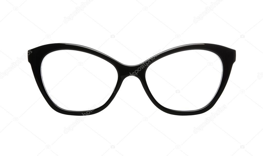 Katzenauge geformt retro Brille — Stockfoto © Rangizzz #11173122